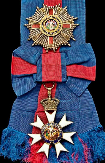 Order of St Michael and St George (Rank 9)