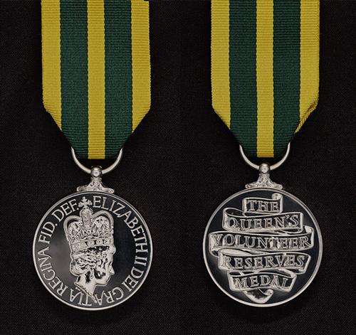 Queen's Volunteer Reserves Medal (Rank 33)