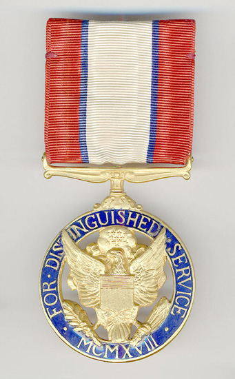 Distinguished Service Medal, Army (Rank 3)