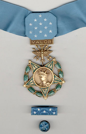 Medal of Honor, Air Force (Rank 1)