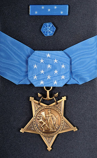 Medal of Honor, Navy (Rank 1)